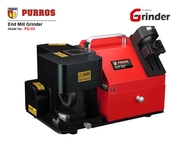 purros pg-x5 end mill grinder, end mill sharpening machine, end mill ...